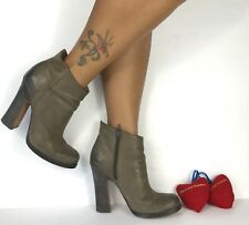 Jean Michel Cazabat LOIS  Women 38.5 Leather Ankle Boots 8.5