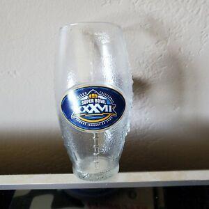 Nfl  super bowl 37 Glass 2003 san diego,ca.free ship in,u.s.