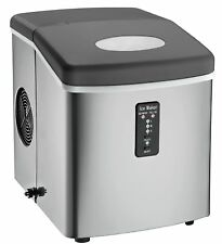 Igloo ICE103 Counter Top Ice Maker with Over-Sized Ice Bucket Stainless Steel
