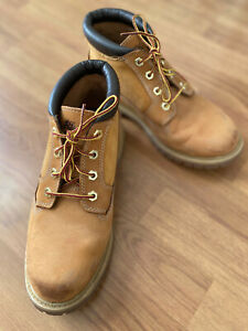 Genuine Timberland Boots Tan Colour UK Size 6