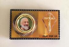 St Padre Pio Car Magnet Plaque Pray for us plaque