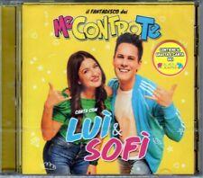 ME CONTRO TE - CANTA LUI & SOFI - CD + GRATTA E CANTA NUOVO SIGILLATO