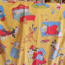 Vtg Disney Wamsutta Twin Flat Sheet Huey Dewey Louie Clarabelle Scrooge McDuck