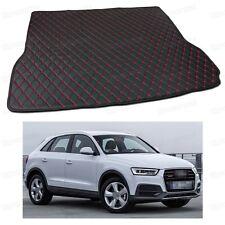 PU Leather Car Trunk Mat Cargo Pad Carpet Fit for Audi Q3 13 14 15 16 2012-2017