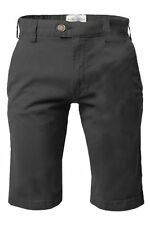 Cotton Patternless Chinos, Khakis Stretch Shorts for Men