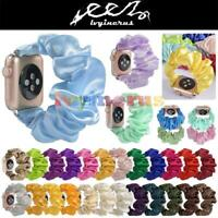 Scrunchie Loop Band Strap For Apple Watch iWatch Series 5/4/3/21 38/40 42/44mm
