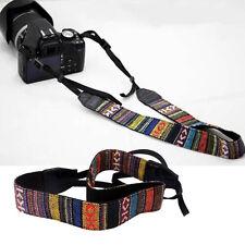 Vintage Neck Shoulder Strap Belt for DSLR Camera Binoculars Nikon Sony Canon New
