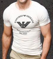White  Emporio Armani body fit T-shirt size M--L--XL  <<