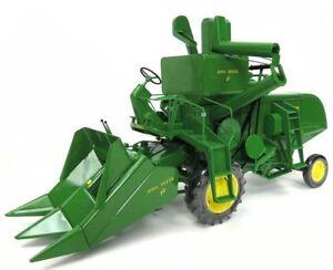 moissonneuse combine tracteur John deere 45 ERTL 1/16 prestige ! collection