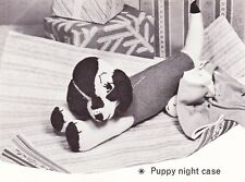 1950's PUPPY / NIGHT CASE - Copy toy knitting pattern