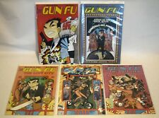 Gun Fu Comic Book Lot, Axiom, Image, Lost City, Howard Shum, Joey Mason, VF+, #1