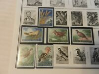 Lot of 21 San Marino Stamps 1960s Birds, Olympics, More MNH
