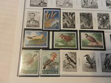 Lot of 21 San Marino Stamps 1960s Birds, Olympics, More MNH