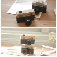 Or Brown Office School Supplies Tools Camera Model Stamp Wooden Rubber Seal