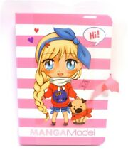 Depesche 8531 A Manga Model Notes to Go pink Schreibmappe Notizblätter TopModel