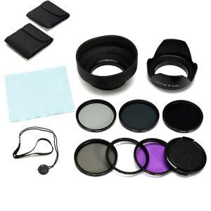 58MM UV CPL Polarizer ND2 4 8 Filter Kit For Canon EOS 600D 700D 750D 1200D Lens