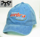 crankshaft spacers & Embroidered WEBRA engine motor cap hat Brand New