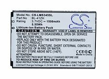 3.7v Batteria per LG Leon TV DUAL SIM ls665 ms345 bl-41zh Premium Cella UK NUOVO