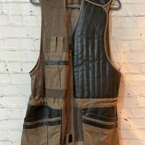 Cabelas Outdoor Gear unisex Adults Khaki Sleeveless Polyester Hunting Vest Sz XL