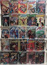 Flash Comics Huge 25 Comic Book Lot Collection Set Run Books Box 3