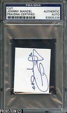 Johnny Manziel Cleveland Browns Cut AUTO Autograph PSA/DNA Certified