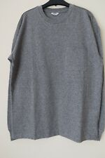 Next Men`s Grey Drop Shoulder Top Size Medium