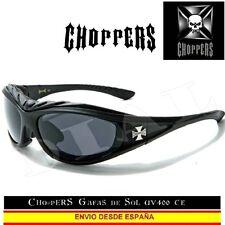 CHOPPERS Gafas de Sol Acolchado Moto Custom Biker Sunglasses Lunettes Occhiali