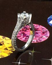 18k wg Diamond Engagement Ring Solitaire