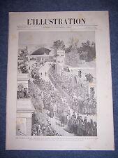 L'ILLUSTRATION 2599 17/12/1892 METRO LIGNE DE SCEAUX VAISSEAU BRETAGNE VENEZUELA