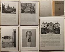 Osthaus Van de Velde Leben und Schaffen des Künstlers 1920 Baukunst Kunst sf
