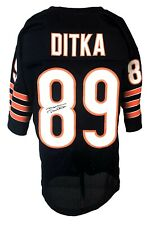 Chicago Bears Mike Ditka Autographed Pro Style Blue Jersey JSA Authenticated