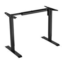 Sit-Stand 2-Stage Single-Motor Height Adjustable ADR Desk Frame Electric-Black