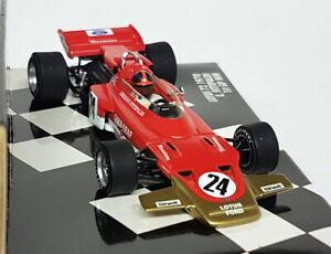 Minichamps 1/43 Scale - 430 700024 Lotus 72 1970 E. Fittipaldi Diecast F1 Car