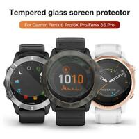 3PCS 9H Hardness Tempered Glass Screen Protector For Garmin Forerunner Fenix6/6s