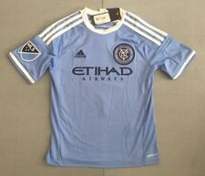 MLS New York City Football Club Youth Small or Large Soccer Jersey Retail $70