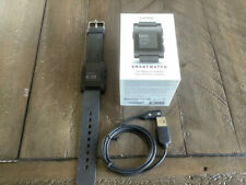 Pebble Smart Watch 301BL Black iPhone Android Bluetooth