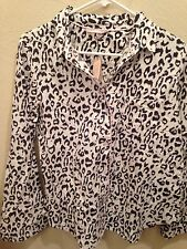 Victoria's Secret Leopard Print Pajama Set New with Tags Large