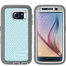 NEW!! OtterBox Defender Series for Samsung Galaxy S6 Case w Holster Moroccan Sky
