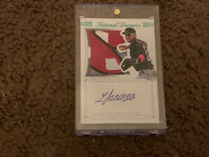 2015 NATIONAL TREASURES YOAN MONCADA Rookie Auto Patch, Limited 5 Of 5!!