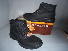 af81ebdd3ea Men s SKECHERS Resment - Rialto Leather Suede Black Boots Sizes!