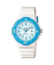 Casio Women's Ladies Sports Style Watch With White Display, Aqua LRW-200H-2B