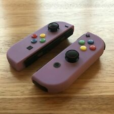 Nintendo Switch Custom Soft Touch GameCube Joy Con Controllers (Refurbished)