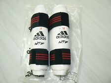 Med Adidas Wtf Youth Sized Taekwondo Forearm Protector Arm Guard White Red Black