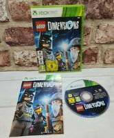 Lego Dimensions For Microsoft Xbox 360. Game and Manual Only - Free P&P