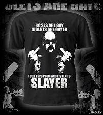 Slayer t-shirt,thrash metal,heavy metal,metallica,anthrax,
