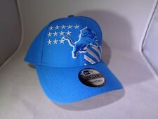 Detroit Lions NFL New Era 9FORTY Adjustable Cap Hat (MEN'S One-Size-Fits-Most)