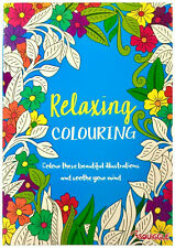 A4 Stress Relieving Adult Colouring Book Relaxing