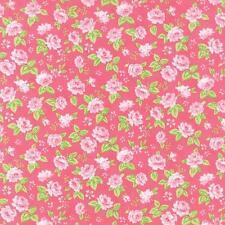 Moda Fabric~Sew  & Sew~Chloe's Closet~1/2 yard~Strawberry 33183 11~100% Cotton~