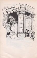 Ronald Searle Vintage Original 1960 ex-libris réductions