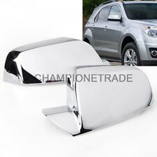 US Chrome Rear View Side Mirror Cover For 2010-2016 GMC Terrain / Chevy Equinox